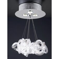 <strong>PLC Lighting</strong> Elegance 3 Light Pendant