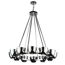 <strong>PLC Lighting</strong> Precidio 12 Light Chandelier