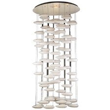 <strong>PLC Lighting</strong> Aquarium 80 Light Chandelier