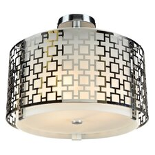 Ethen 3 Light Semi-Flush Mount