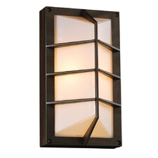 <strong>PLC Lighting</strong> Expo 1 Light Outdoor Wall Sconce