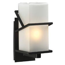 <strong>PLC Lighting</strong> Oxford 1 Light Outdoor Wall Sconce