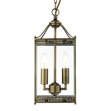 Laterns 2 Light Hanging Lantern