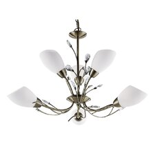 Gardasee 6 Light Semi Flush Mount