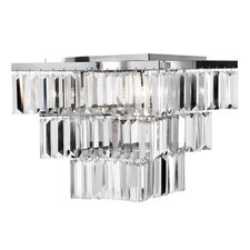 Brianna 7 Light Semi Flush Mount in Chrome