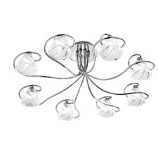 Emma 8 Light Semi Flush Mount in Chrome
