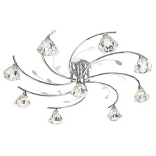 Siesta 9 Light Flush Mount