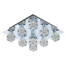 9 Light Semi Flush Mount