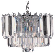 Sigma 4 Light Crystal Chandelier
