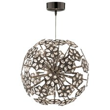 Flower 10 Light Globe Pendant
