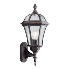 <strong>Home Essence</strong> Corfu 1 Light Post Lantern in Rustic Brown