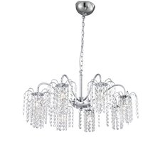 Floriana 8 Light Crystal Chandelier