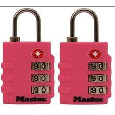 Set of 2 Assorted Luggage Locks