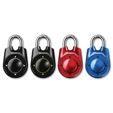Speed Dial Combination Lock, 4-Way Directional