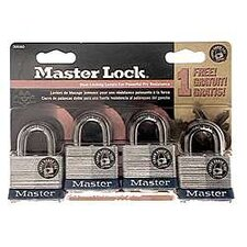 No. 3 Padlock (Set of 4)