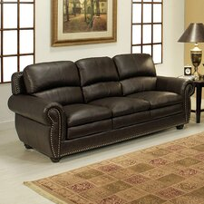 <strong>Abbyson Living</strong> Ridgecrest Top Grain Leather Sofa