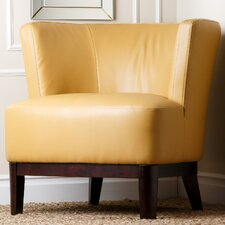 Louis Leather Accent Chair