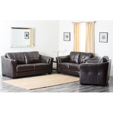<strong>Abbyson Living</strong> Sydney Premium Leather Living Room Set