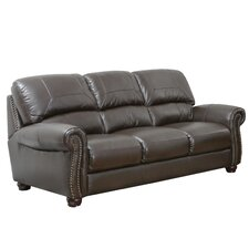 <strong>Abbyson Living</strong> Broadway Leather Sofa