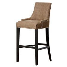 "Hudson 30"" Bar Stool with Cushion"