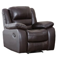Providence Leather Chaise Recliner