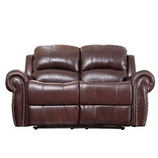 <strong>Abbyson Living</strong> Sedona Leather Reclining Loveseat