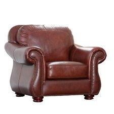 Harbor Premium Semi-Aniline Leather Armchair