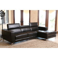 Bennette Leather Sectional