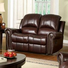 Sedona Leather Reclining Loveseat