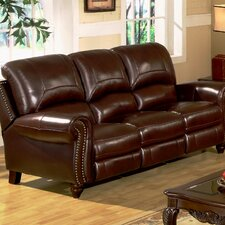 Charlotte Leather Reclining Sofa