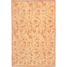 Oceans of Time Himalayan Sheep & Flowers Rug