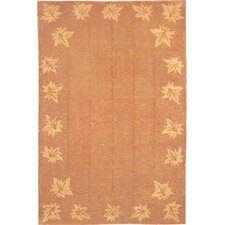 Oceans of Time Himalayan Sheep Leaf Rug