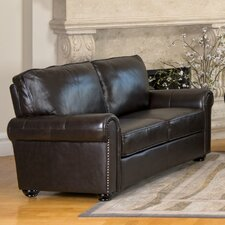 Bliss Italian Leather Loveseat