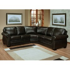 Empire Leather Sectional