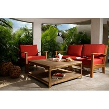 Meru 3 Piece Deep Seating Group with Cushion
