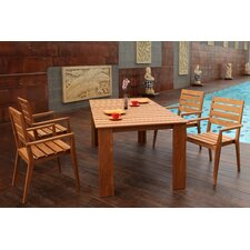 <strong>Abbyson Living</strong> Zara 5 Piece Dining Set