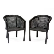 Galveston Patio Dining Arm Chair (Set of 2)