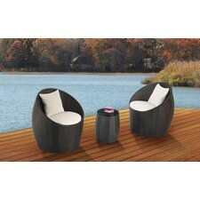 Neptune Patio 3 Piece Seating Group