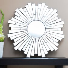 "London 40"" H x 40"" W Wall Mirror"