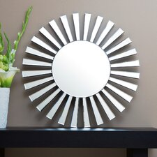 "Utopia 31.5"" H x 31.5"" W Wall Mirror"