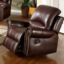 Sedona Reclining Italian Leather 2 Piece Set