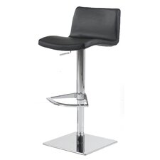 Pluto Adjustable Height Swivel Bar Stool