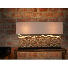"26"" Table Lamp with Rectangular Shade"