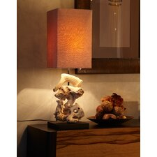 "28"" Table Lamp with Rectangular Shade"