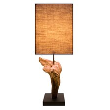 "17"" H Table Lamp with Rectangular Shade (Set of 2)"
