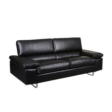 Fiona Leather Sofa (Set of 2)