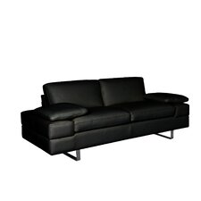 Lindo Leather Loveseat (Set of 2)