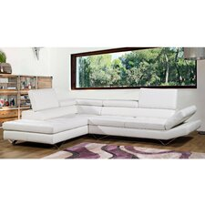 <strong>Bellini Modern Living</strong> Sicilia Leather Sectional