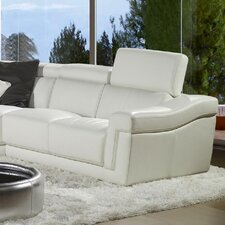 Berton Leather Sectional
