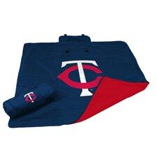 MLB Minnesota Twins All Weather Fleece Blanket